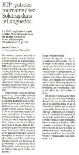 2013-06-01 - La crise aggrave la problematique des PME 2