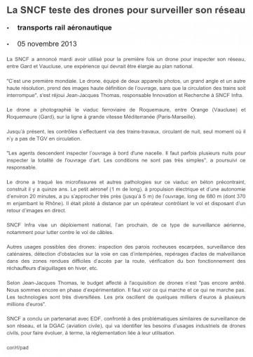 AFP SNCF