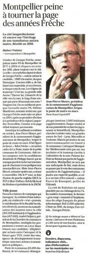 2014-01- 24 - Montpellier peine à tourner la page des années Frêche