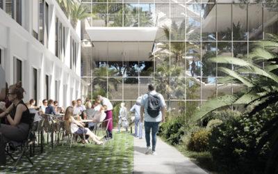 Sur la Zac Cambacérès, la Halle Nova veut révolutionner l'offre tertiaire à Montpellier
