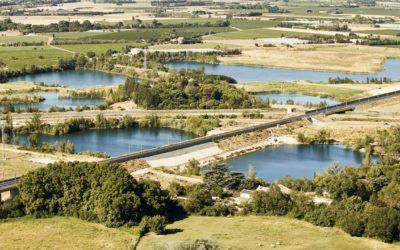 Oc'Via s'engage dans des projets agroécologiques le long de la ligne ferroviaire Nîmes-Montpellier