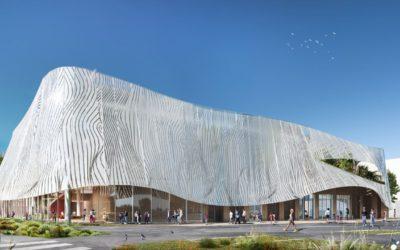 A + Architecture dessine la future Halle des Sports à Nîmes