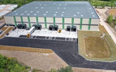 Axens se dote d'un nouvel entrepôt logistique à Salindres