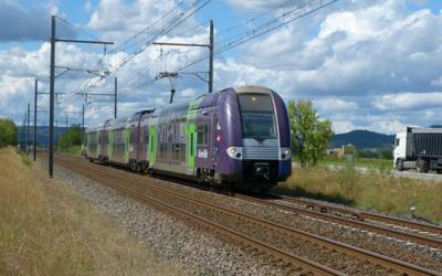 La ligne ferroviaire de la Rive droite du Rhône rouvrira aux voyageurs en 2022