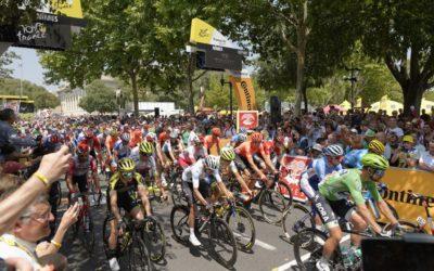 Nîmes, une habituée du Tour de France