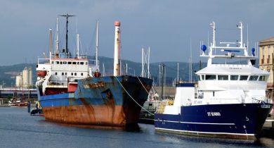 L'épave du Rio Tagus bientôt évacuée du port de Sète