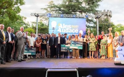 Dinopedia, parc à thème sur les dinosaures, remporte le 1er prix d'Alès Audace