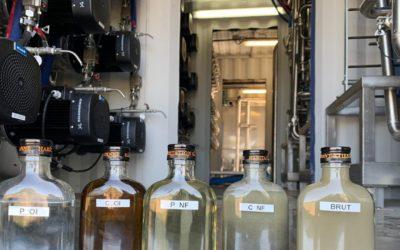 Les membranes de Nereus transforment les vinasses de rhum en eau