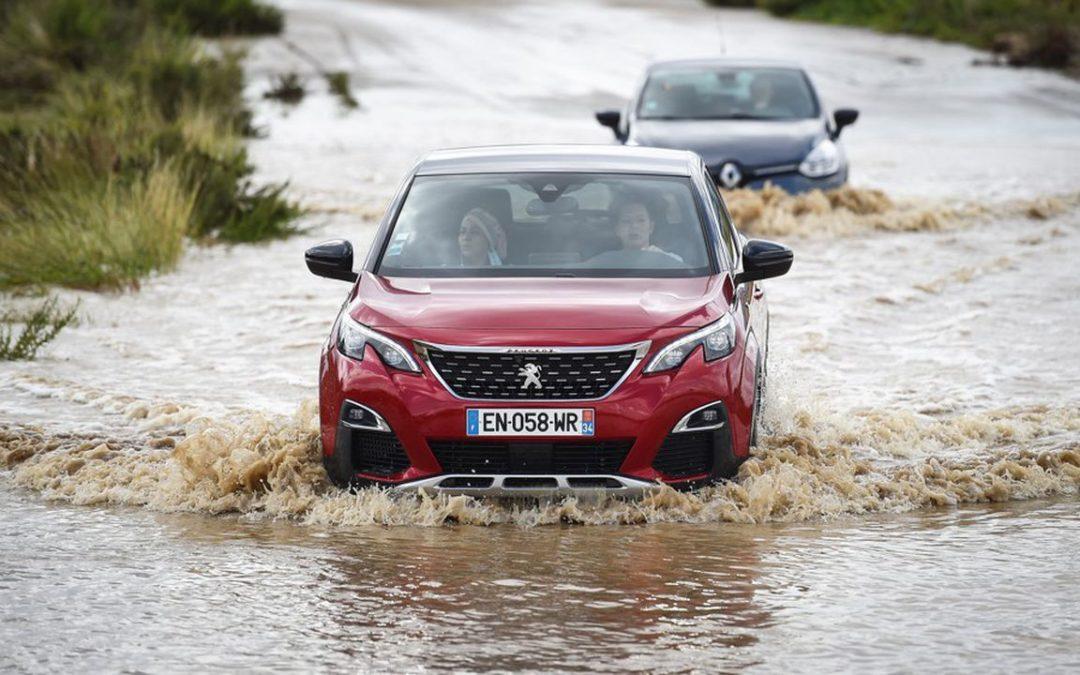 Le Gard touché par des pluies diluviennes